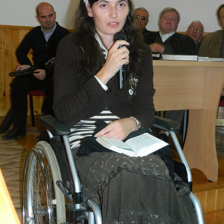 speaking up for disabled
